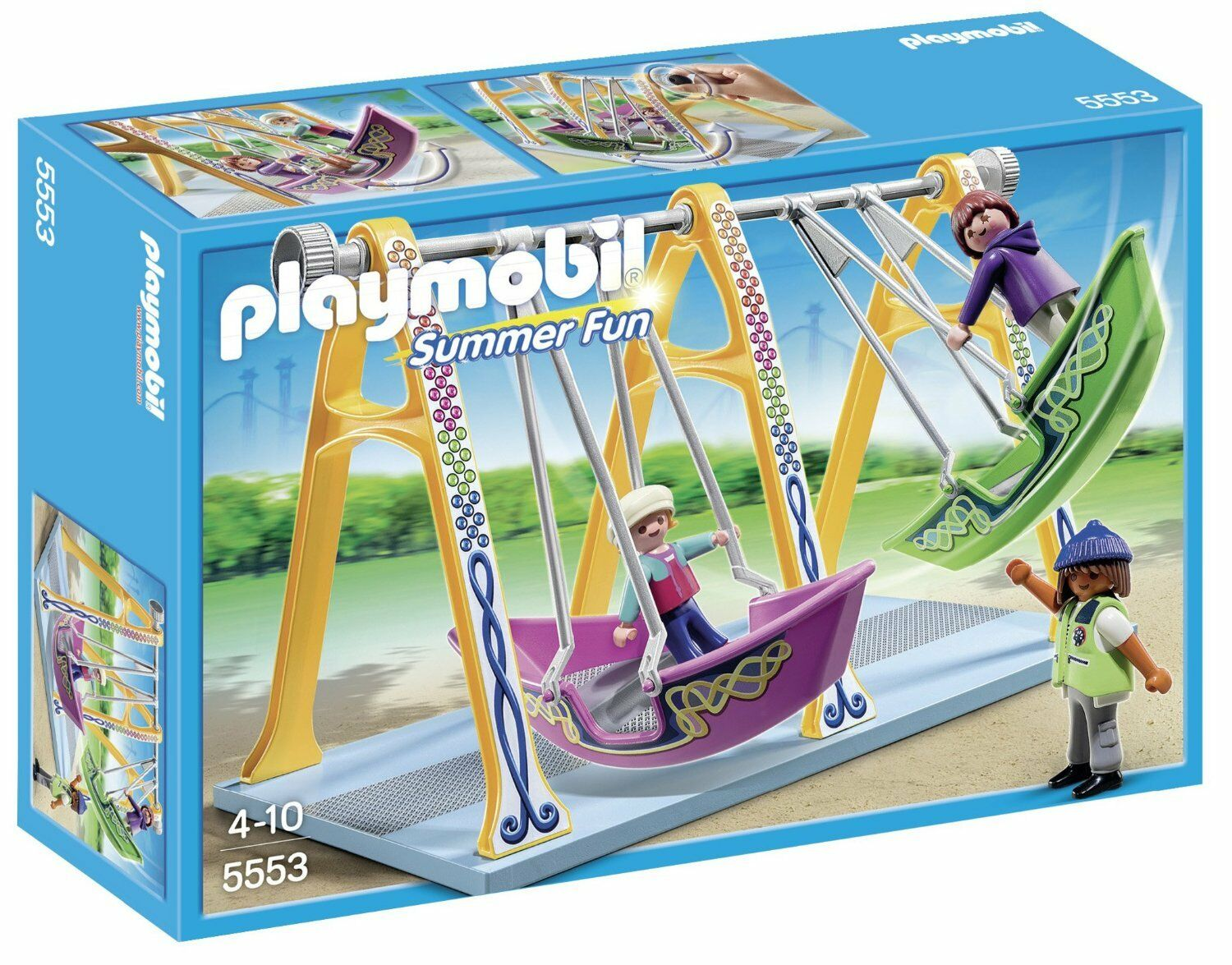Playmobil Summer Fun 5553 Barcos-Columpio  - New New New and sealed 55e033