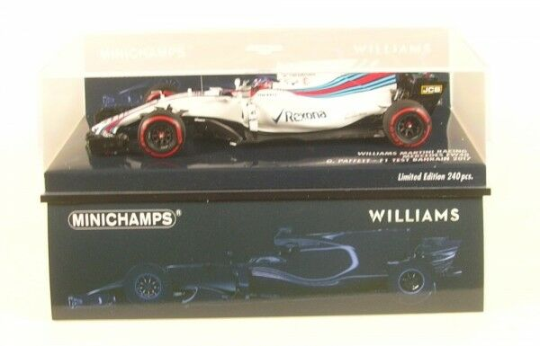 Williams Martini Racing Mercedes FW40 No.41 Test Bahrain Formula 1 2017 ( Gary
