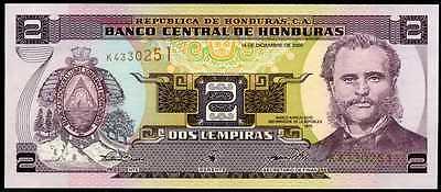 2 LEMPIRAS  2000 HONDURAS P 80Ab   Uncirculated Banknotes