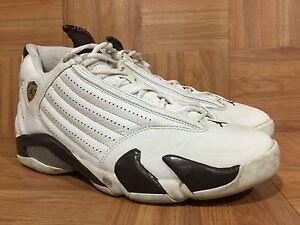 new concept 8ff9e c56bb Image is loading RARE-Nike-Air-Jordan-14-XIV-Retro-Dark-