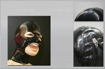 "Latextil --- neu --- Latexmaske ""allopen"" Mask Maske Rubber Intellektuell 4 Farben Rheuma Lindern"