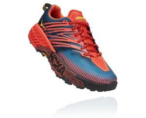 HOKA ONE ONE SPEEDGOAT 4 Men's Scarpe Uomo Trail Running FIESTA BLU 1106525 FPBL