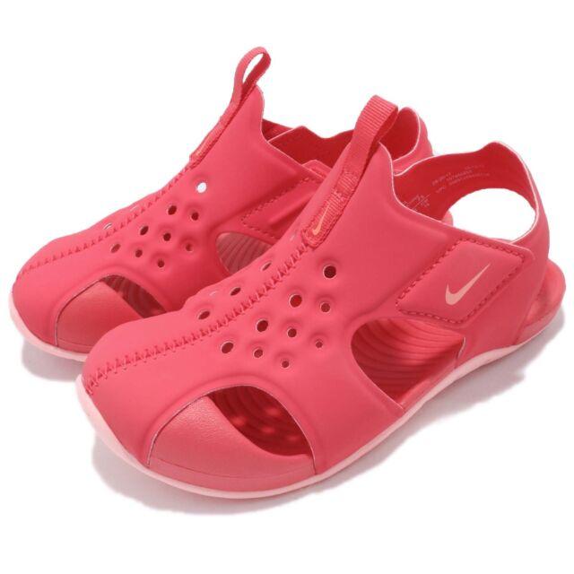 f873590bf8 Nike Sunray Protect 2 TD Green Abysswhite Blue Toddler Infant Sandal  943827-301 9 C for sale online   eBay