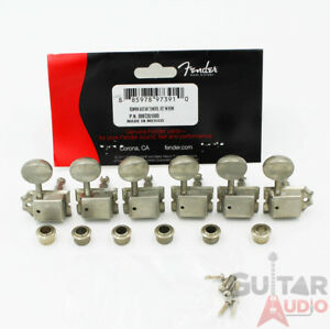 Genuine-Fender-ROAD-WORN-Relic-Aged-Vintage-Strat-Tele-Machine-Head-Tuners