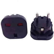 1pc Universal EU Europe to UK England Power Adapter Converter Wall Plug Socket