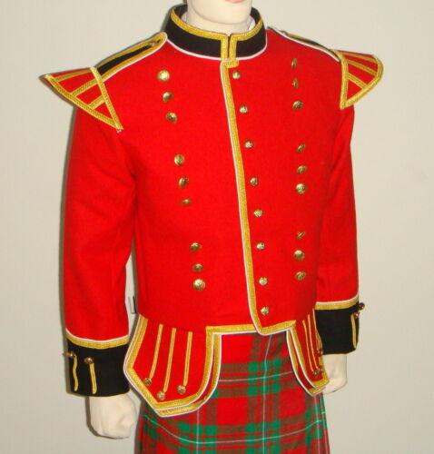 GeoffreyDoublet Tunic for Piper Drummer BandNew 100/% blazer woolTU2T