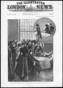 1898-Antique-Print-HAMPSHIRE-Netley-Military-Hospital-Queen-Victoria-Visit-53