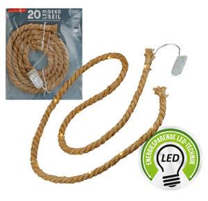 Sisalseil-mit-20er-LED-Draht-Lichterkette-warmweiss-Batteriebetrieb-Sisal-Kordel