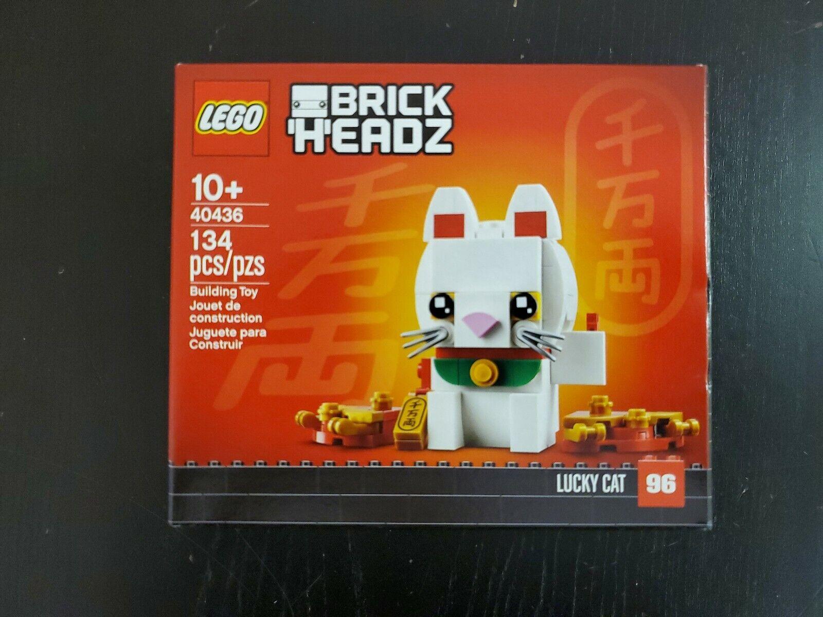 Lego Brickheadz Lucky Cat 40436 NIB