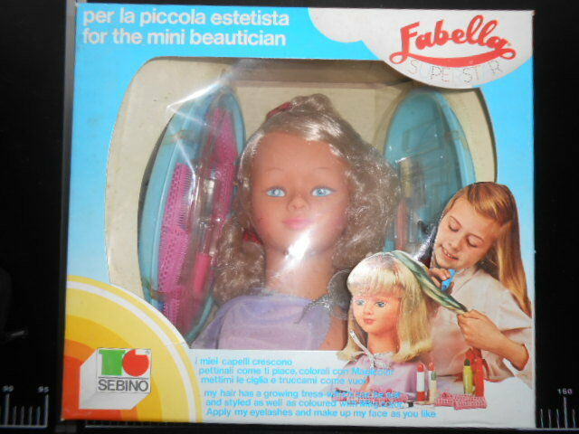 Fabella Super Star Estetista Beauty Salon SEBINO Doll Polistil