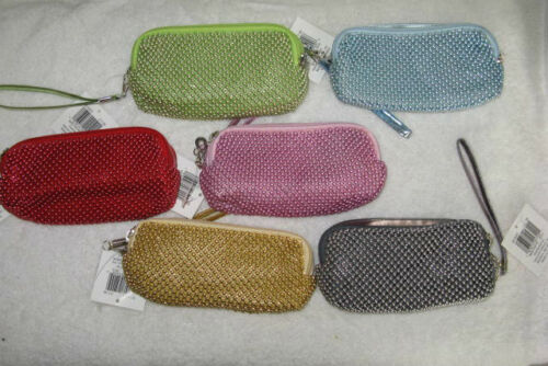 PURSE SMALL CARRY ALL GREAT FOR MAKEUP KEYS PHONES  3 1//2 X 6/""