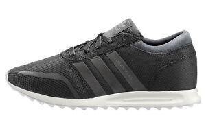 Dettagli su Adidas Los Angeles Donna Scarpe Nere da Ginnastica S42019  Sneakers Casual