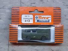NEW Roco Minitanks / Herpa Modern West German VW T3 Double Cabin Van Lot 1020