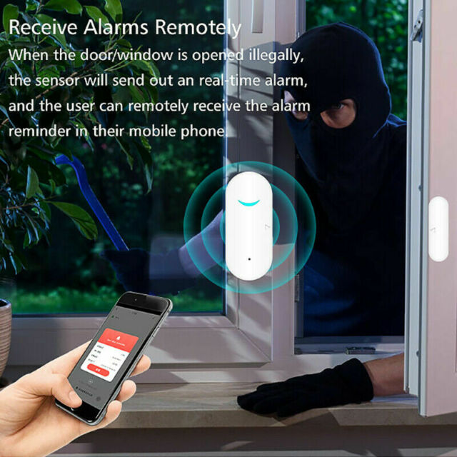INBOX Mivatek DWM1301 WINDOW DOOR Sensor for Home8 Brand New Oplink