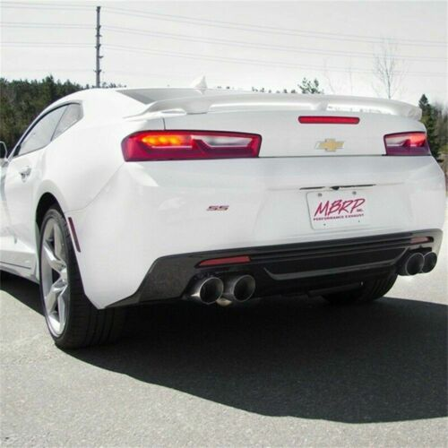 MBRP Axle-Back Exhaust w// Quad Tips fits 2016-2019 Chevy Camaro SS 6.2L S7036AL