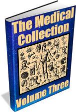 MEDICAL COLLECTION Vol 3 ~ Vintage books on DVD - Diagnostics, Nursing, Doctor