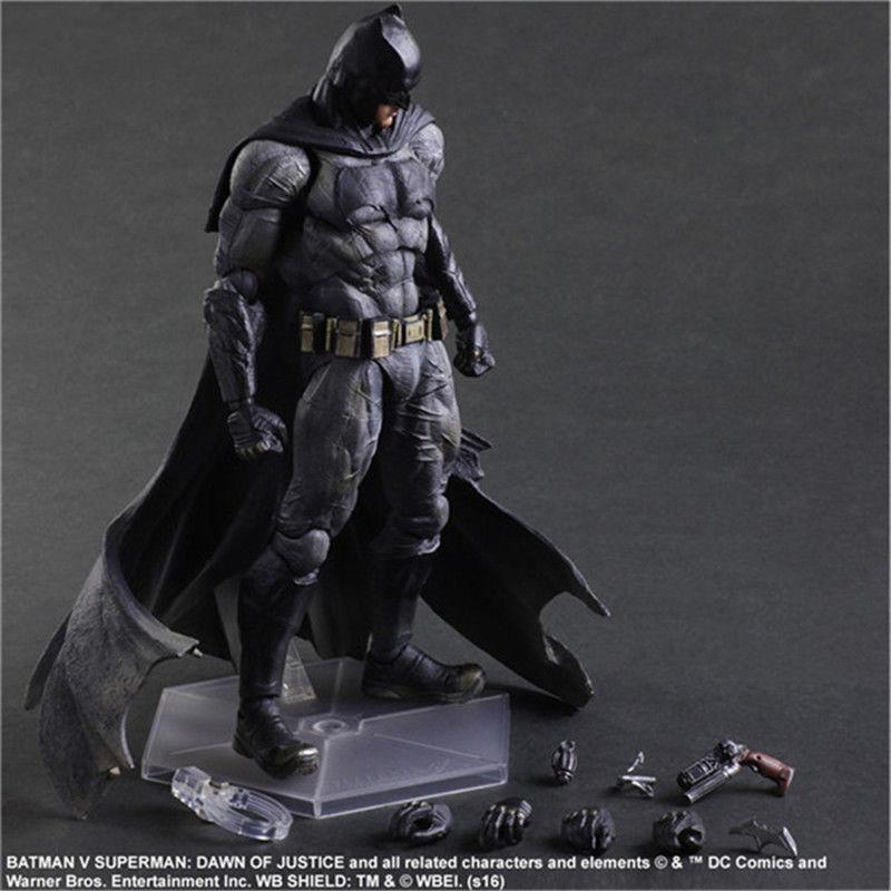 PLAY ARTS KAI BATMAN V SUPERMAN DAWN OF JUSTICE NO 1 BATMAN ACTION FIGURES TOY