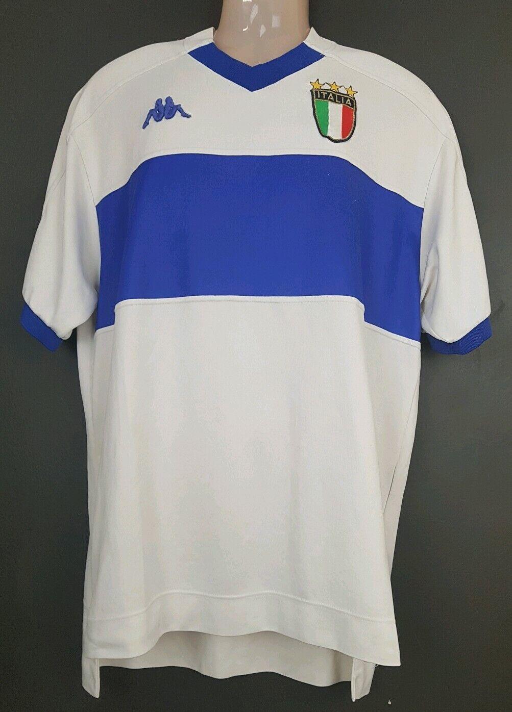 Kappa 1999 football soccer jersey shirt XL rare collectable white