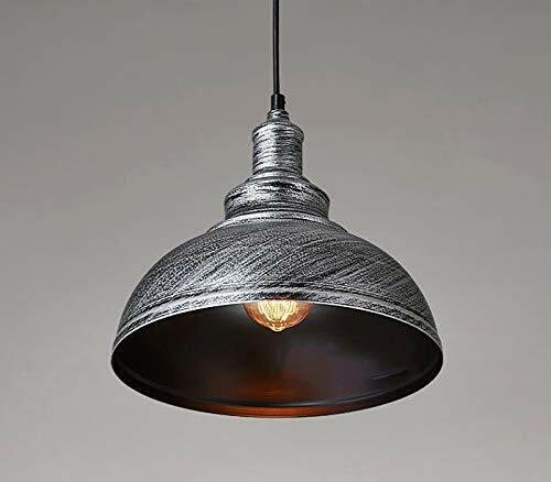 Metal Lampshade Modern Retro Curvy Ceiling Pendant Light Shade Easy Fit Light UK