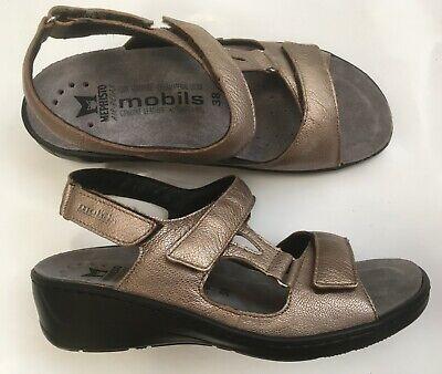 2019 Nuovo Stile Chaussures Sandales Mephisto Mobils Neuves Métallisé 41 Supplemento L'Energia Vitale E Il Nutrimento Yin