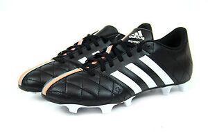 Details zu Adidas 11 Questra FG Herren Fußballschuhe blauweißschwarz FG Nocken NEU