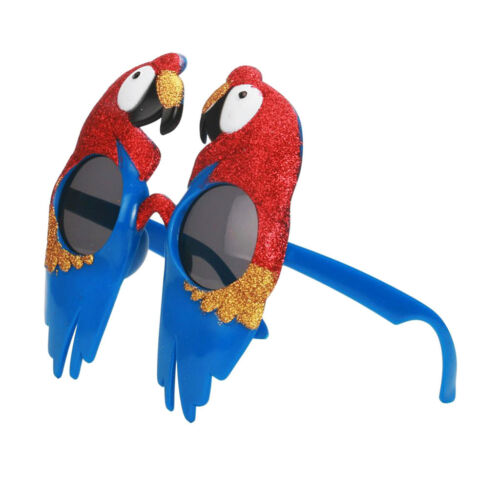 Novelty Fun Bird Parrot Sunglasses Halloween Christmas Costume Macaw Glasses