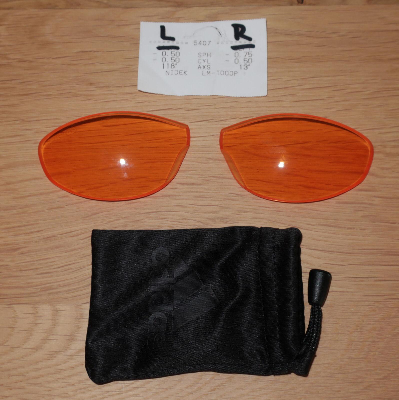 Direttamente vetrata Adidas Evil Eye Pro lenti, LST Bright AF, S, a127 con acutezza
