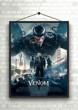 Venom Movie Poster Art Print A0 A1 A2 A3 Maxi