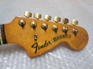 1975 Fender Bronco Neck-made In Usa-afficher Le Titre D'origine Vente De Fin D'AnnéE