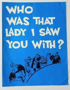 Program Who Was That Lady 1966 John Forsythe Kenley Players Columbus Ohio