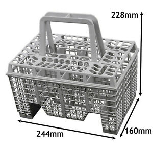 AEG ELECTROLUX ZANUSSI Dishwasher Cutlery Basket Large Grey 228 x ...