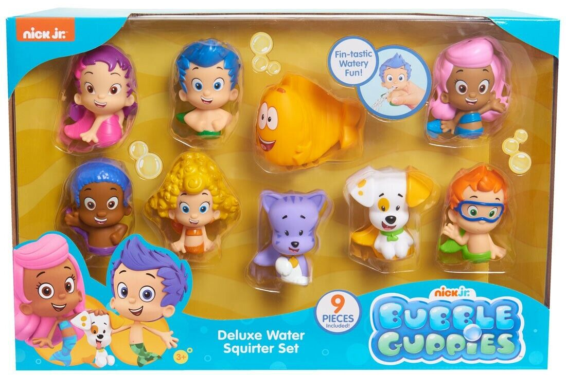Bubble Guppies Squirter 9-Pack Bath