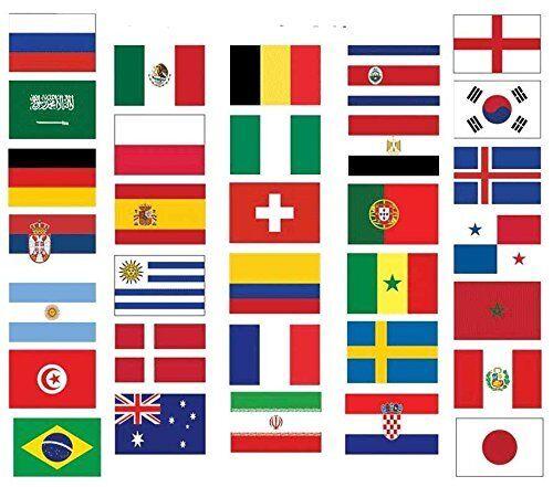Fahnenkette Flaggenkette Girlande Peru Fahnen Flaggen 15x22cm