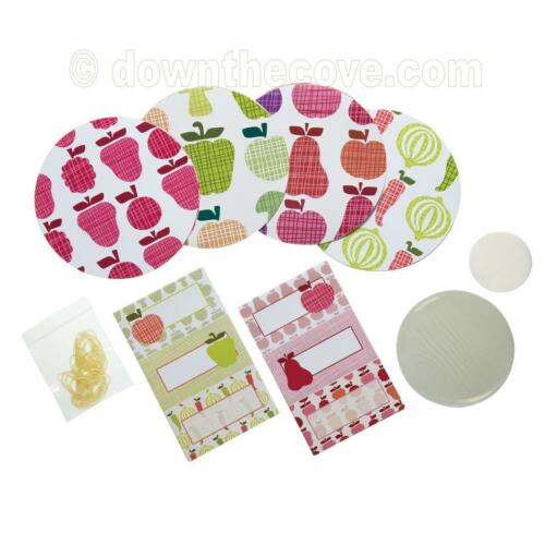 Kitchen Craft home made préserve Kit-Moderne-la fabrication des confitures jar disques étiquettes