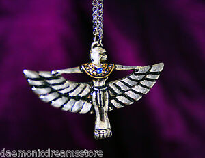 Details about ISIS EGYPTIAN GODDESS PENDANT  Occult  Magic Magick   Witchcraft Wicca  Egypt