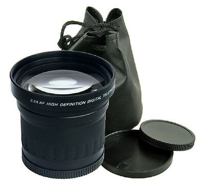 58mm 3.5x Telephoto Digital Conversion Lens For Canon Nikon DSLR Camer Camcorder