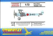 Choroszy Models 1/72 YOKOSUKA NAVY TYPE 3 K2Y1 Japanese Primary Trainer