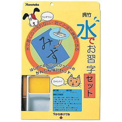 Japanese Chinese Calligraphy Shodo Magic water brush practice paper from JAPAN