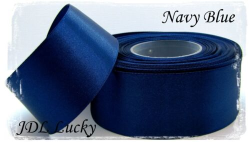 1/'/' 5,5 yards 60 colours SATIN RIBBONS 5m Free Delivery 25mm