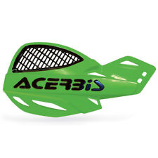 NEW ACERBIS UNIKO VENTED BLACK//GREEN HANDGUARDS KAWASAKI KXF250 KXF450 2011