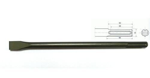 von Rennsteig Meißel SDS Max Flachmeißel 25 x 400mm CrV-Stahl