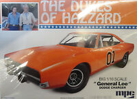 Mpc 1969 Dodge Charger General Lee Dukes Of Hazard 1/16 Plastic Model Kit 752