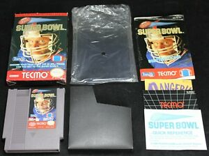 Tecmo Super Bowl NES Game Complete w/ Box - Nintendo