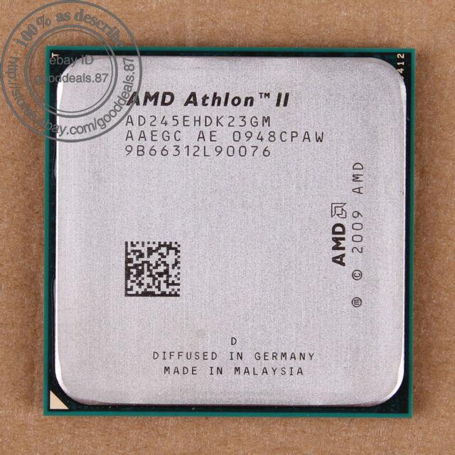 AMD Athlon II X2 245e - 2.9 GHz (AD245EHDK23GM) Socket AM3 CPU Processor 533 MHz