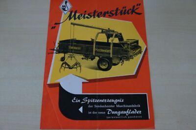 197802) Sendenhorst - Häckselmaschine - Prospekt 195? Schnelle Farbe
