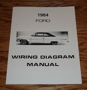 image is loading 1964-ford-car-wiring-diagram-manual-64