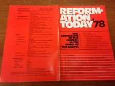 Reformation Today magazine, Issue 42 March- April 1978