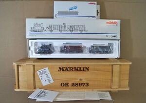 MARKLIN-MaRKLIN-28973-DIGITAL-6080-OBB-OBB-BR-98-GLASKASTEN-WINTER-1953-SET-nc