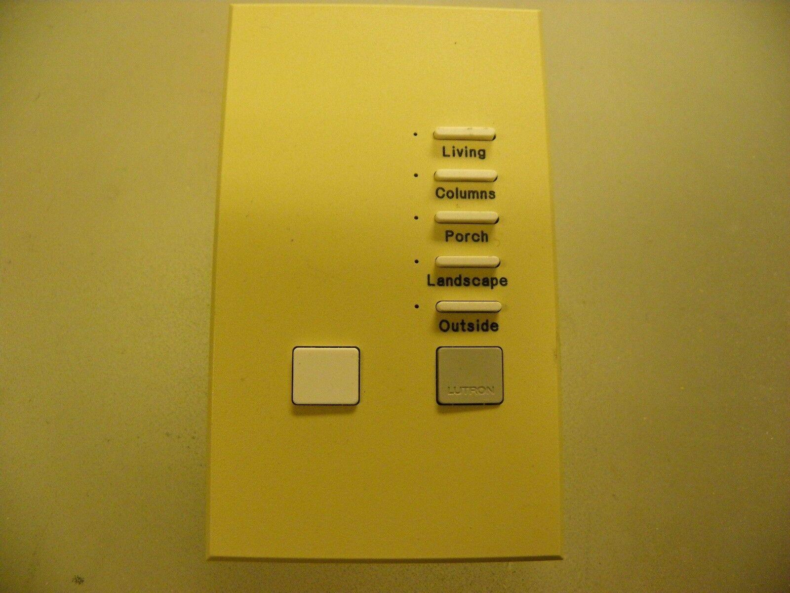 Lutron HWV-KP5 Five Button Keypad