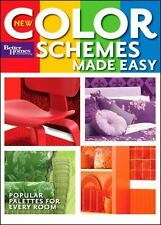 Better Homes and Gardens Home: New Color Schemes Made Easy 14 by Better Homes and Gardens Books Staff (2008, Paperback)